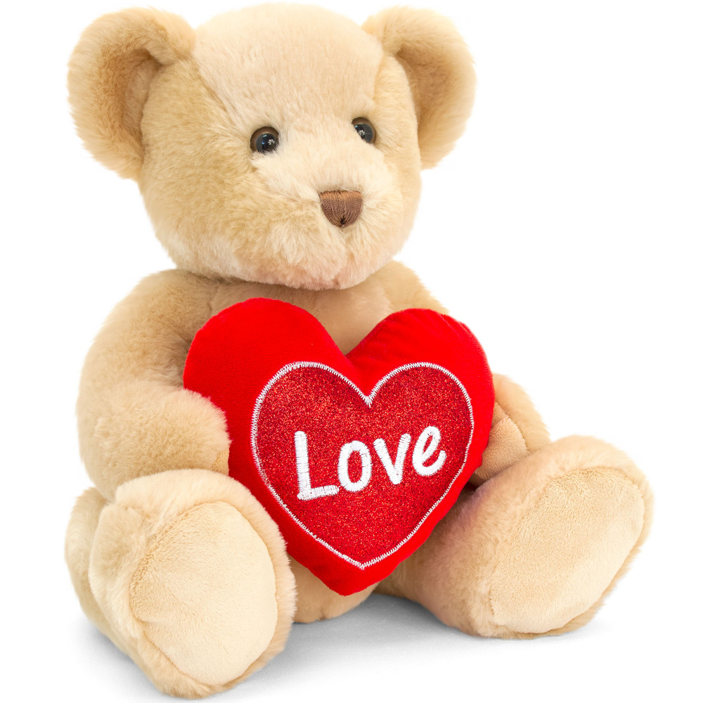 Valentines Bear Holding Heart +£14.95
