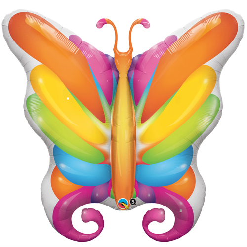 Brilliant-Butterfly Foil Balloon +£3.69