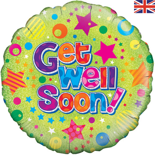 Get Well Soon Balloon +£5.95