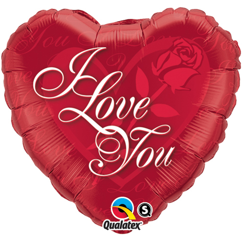 I Love You Splashes Balloon +£5.95