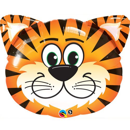 Tickled Tiger-Foil Balloon +£3.69