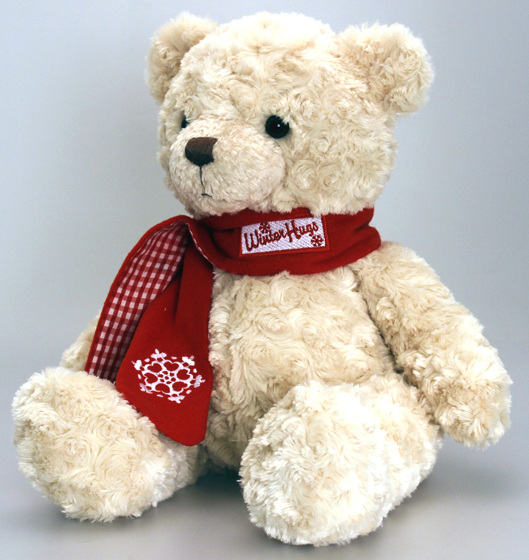 Christmas Bear with Scarf +£21.99