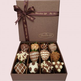 Chocolate-Covered Strawberries Box