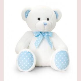 Spotty Teddy Bear - Blue