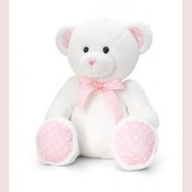 Spotty Teddy Bear - Pink