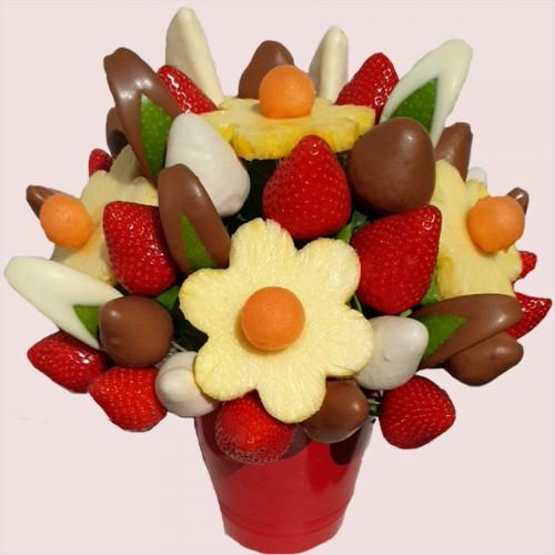 Delicious Apple Chocolate Bouquet