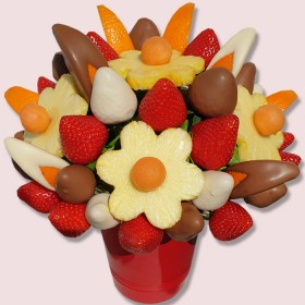 NEW! Edible Delight Fruit Bouquet
