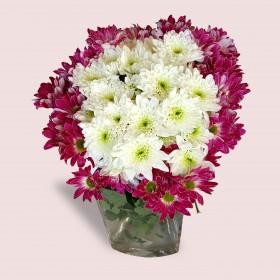 Colorful Chrysanthemum Bouquet