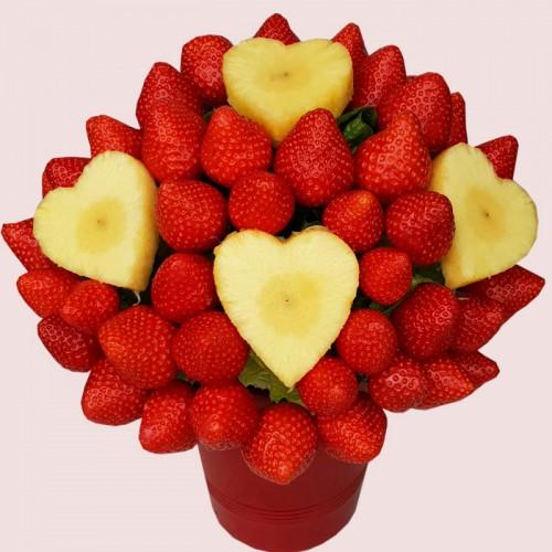 Love Fruit Flower Bouquet
