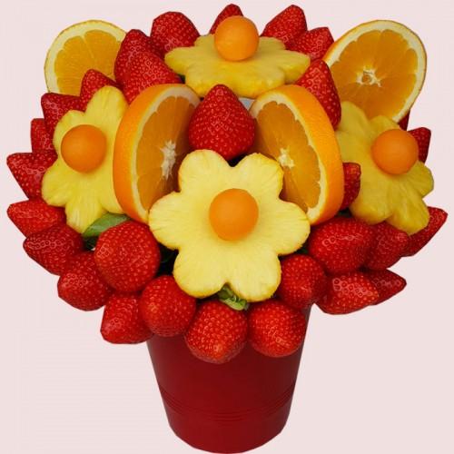 Orange Blossoms Edible Bouquet