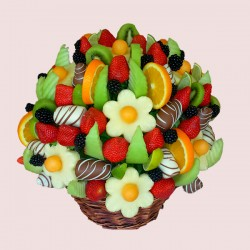 Fruit Flower Bouquets for Happy Birthday