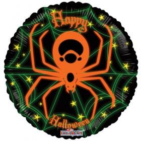 Halloween Spider Neon Balloon