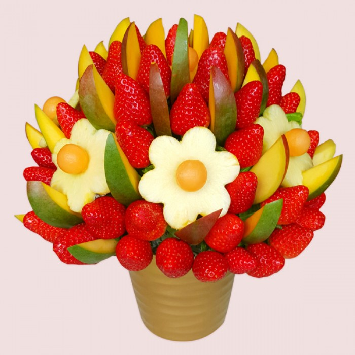 fruit bouquets are peas a fruit