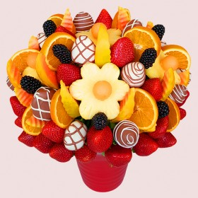Papaya Fruit Bouquet