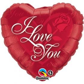 I Love You Splashes Balloon
