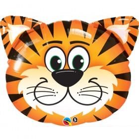 Tickled Tiger-Foil Balloon