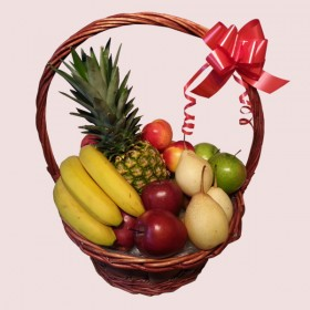 Exotic Fresh Fruit Basket