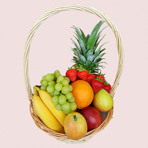 Get Well Soon Edible Fruit Basket