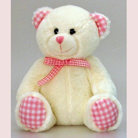 Bear by Keel Toys-15cm Pink