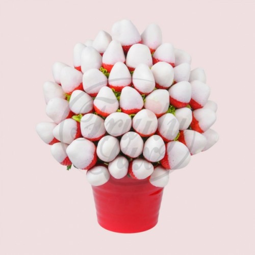 White Chocolate Strawberry Bouquet