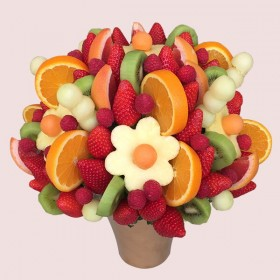 Raspberry Fruit Bouquet