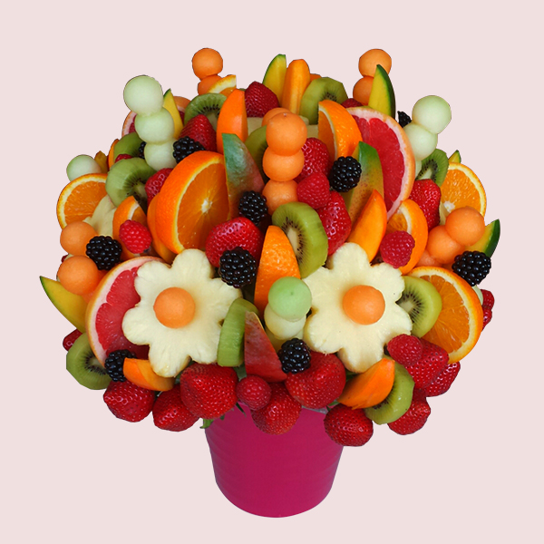 Fruit Flower Baskets Saskatoon : Gift baskets fruit edible bouquets flowers